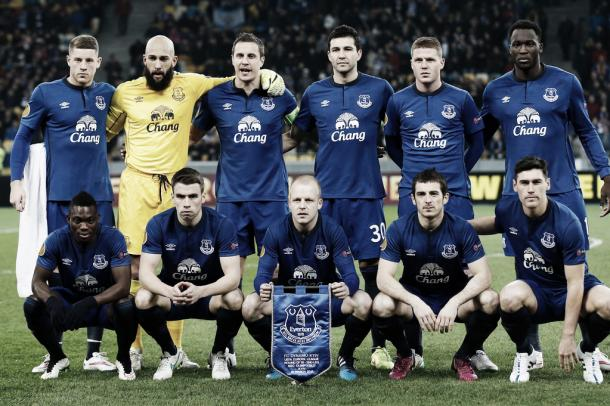 Everton are aiming to get back into the Europa League. Photo: Liverpool Echo