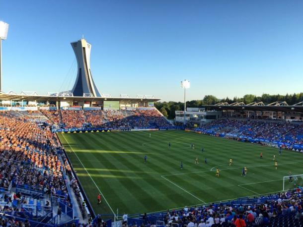 Stade Saputo lleno en un partido del Impact (tunota.com)