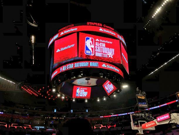 Noche del sábado, NBA All-Star 2018 | Foto: NBA