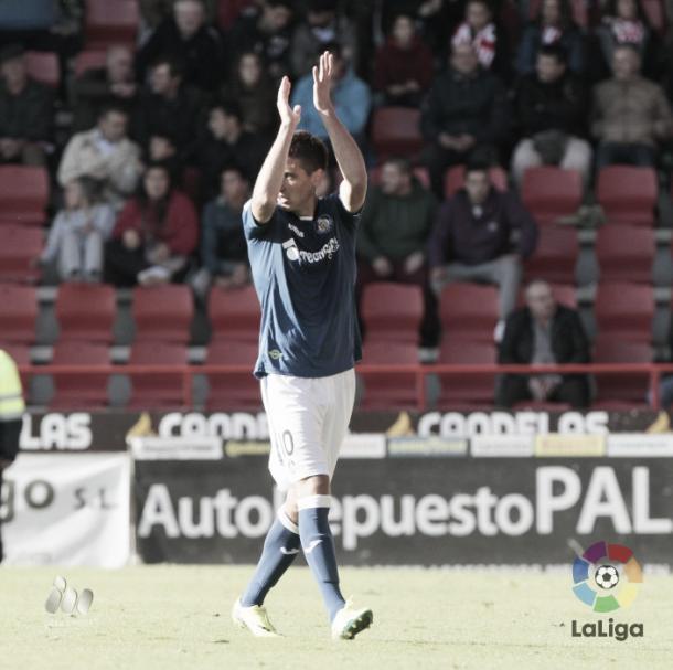 Stefan autor del único gol del encuentro | Foto: LaLiga