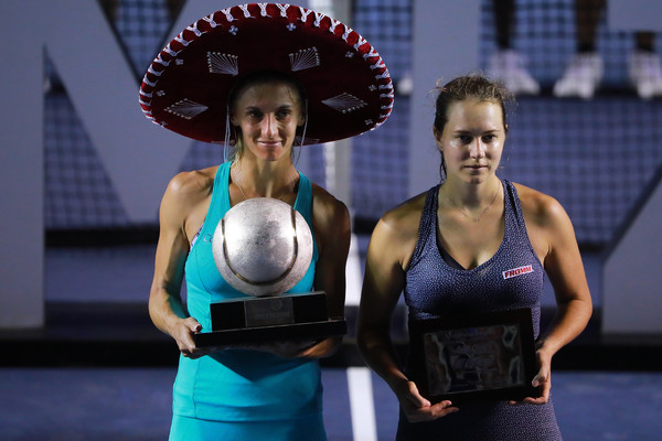 It has been a good week for both Tsurenko and Voegele, who will look to ride on their momentum and continue producing good performances in the upcoming weeks | Photo: Hector Vivas/Getty Images South America