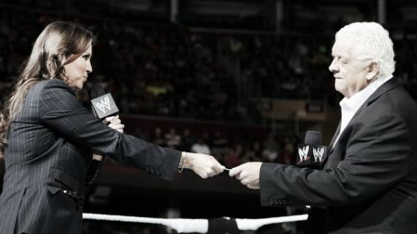 Stephanie said she had a 'special relationship' with Dusty Rhodes (image: pinterest.com)