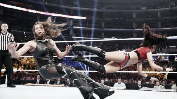 Stephanie said it was up the 'decision maker' if she was to ever return to the ring (image: wwe.com)