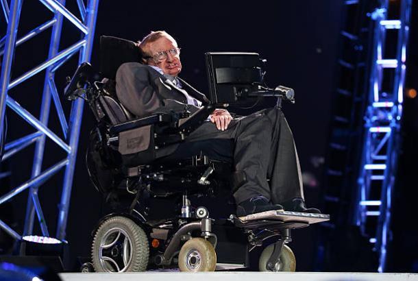 Hawking esteve presente – e discursando – na abertura das Paralimpíadas de Londres (Foto: Dan Kitwood/Getty Images)