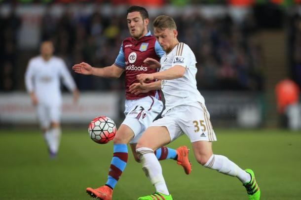 Stephen Kingsley (right) has been a revelation since making his Swansea debut. (Photo: Ben Hoskins/Getty Images)