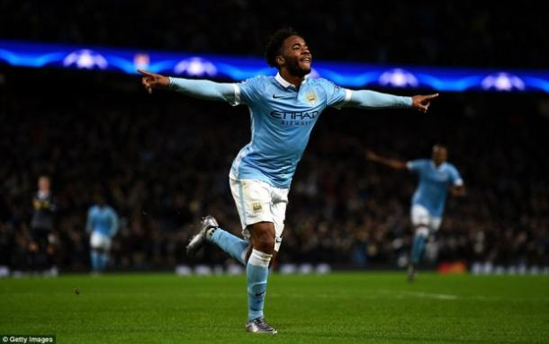 Raheem Sterling in rete | Foto: getty images