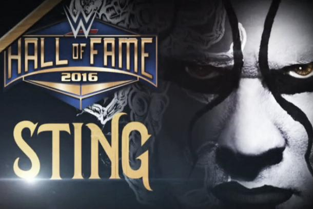 Sting is one of the inductees to the 2016 WWE Hall of Fame (image: cagesideseats.com)