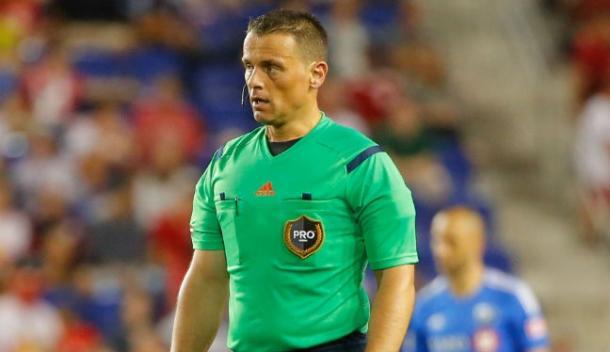 MLS referee Sorin Stoica. | Photo: PROReferees.com