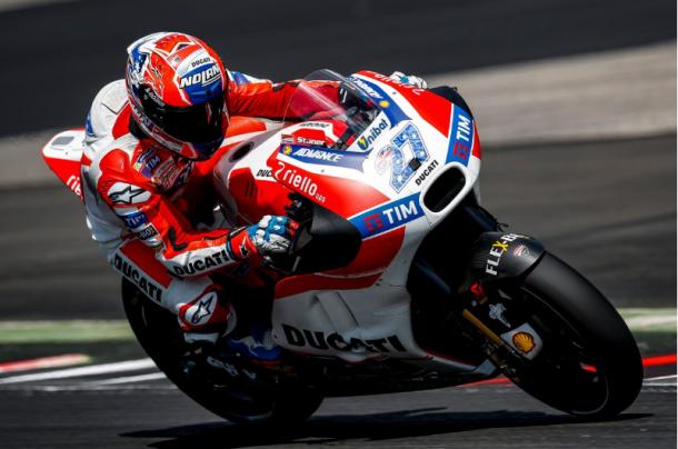 Stoner testing for Ducati at the Red Bull Ring - www.motogp.com