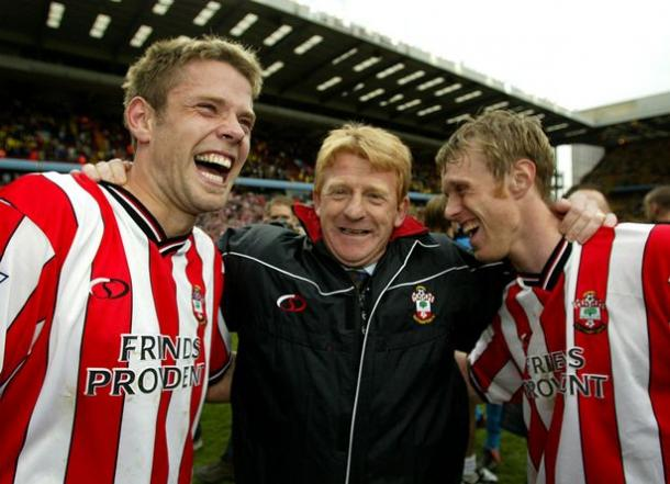 Gordan Strachan during his time at Southampton | Photo: dailyrecord