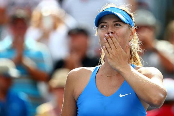 Maria Sharapova at the Rogers Cup in 2014- the last time she played at the tournament (Getty/Streeter Lecka)