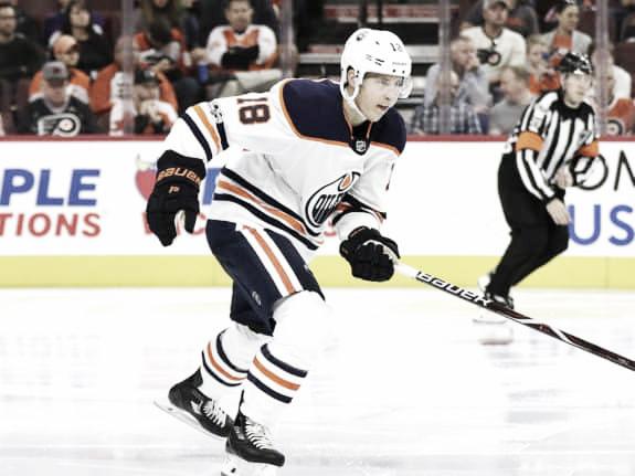 Ryan Strome con los Oilers | Foto: The Hockey Writers