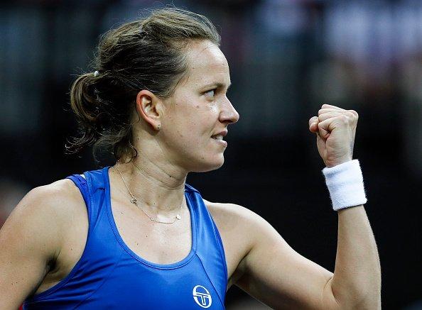 Strycova abriu os dias com vitória dura sobre Kenin (Foto: Divulgação/WTA)