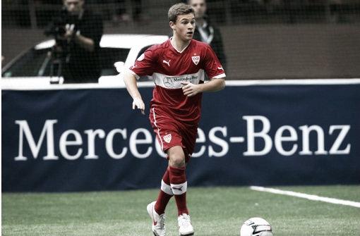 Kimmich en las categorías inferiores del Stuttgart. Foto: DGS.es