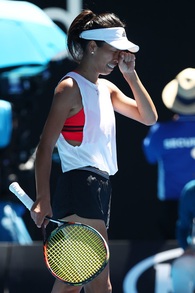 Hsieh Su-wei in tears after claiming the win   Photo: Clive Brunskill/Getty Images AsiaPac