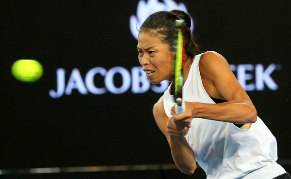 Hsieh Su-wei was efficient in all aspects during the match | Photo: Pat Scala/Getty Images AsiaPac