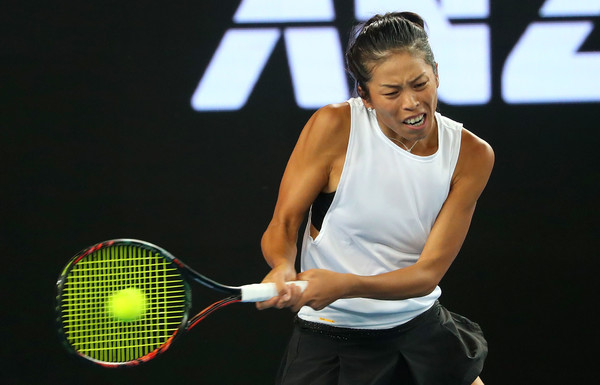 Hsieh Su-wei put in a fantastic display today   Photo: Pat Scala/Getty Images AsiaPac