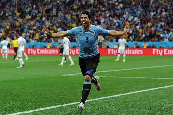 """O uruguaio Luiz Suárez chegou a ser chamado de """"bailarina"""" por Hawking (Foto: Chris Brunskill/Getty Images)"""