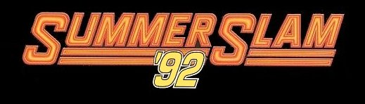 SummerSlam 92 logo which took place at Wembley Stadium (image: Hoffco-inc-.com)