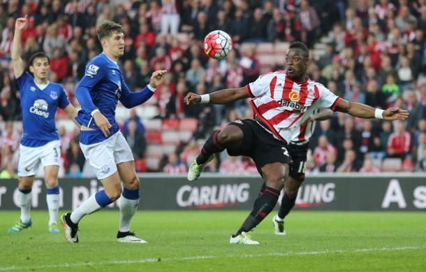Kone scored twice in Sunderland's 3-0 victory over Everton last season. | Photo: Reuters