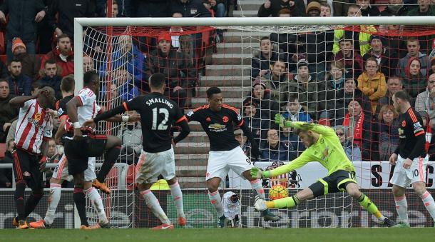 United were beaten 2-1 at the weekend in a poor performance (photo source: Daily mirror)