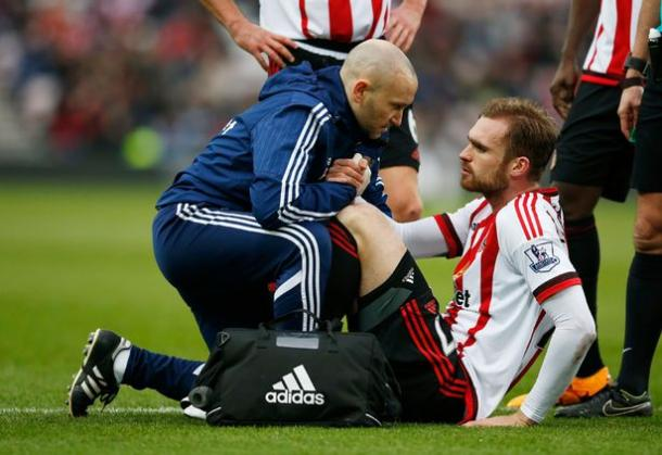 Kirchhoff should be good to go again this weekend, despite having to come off early against United. | Photo: Reuters