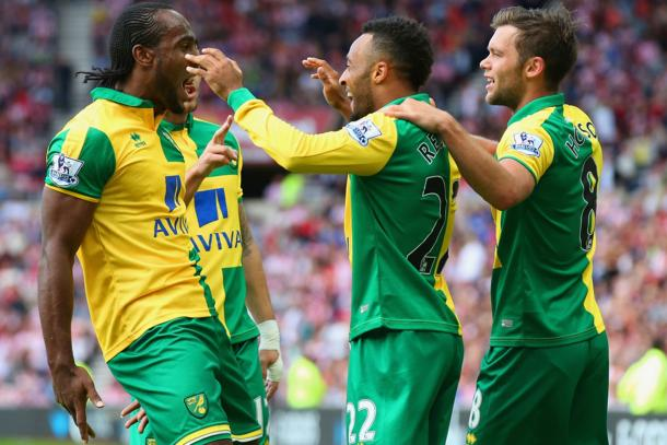 Norwich will be looking to extend the gap to seven with a win (Photo: Getty Images)