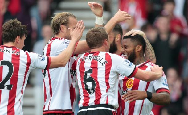 Sunderland will be hoping that they will be celebrating on Saturday against Norwich City. | Photo: Getty Images