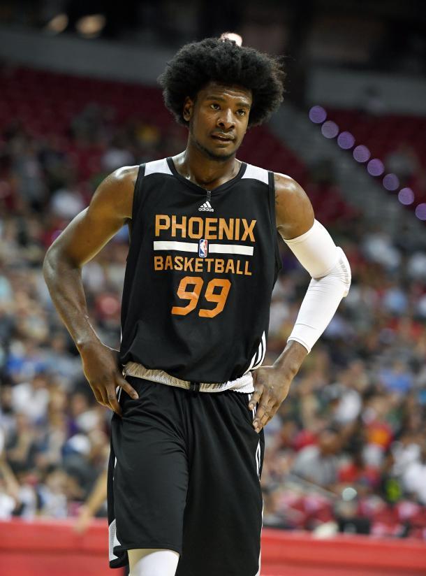 Josh Jackson, con Phoenix Suns en la Summer League. | Foto: NBA
