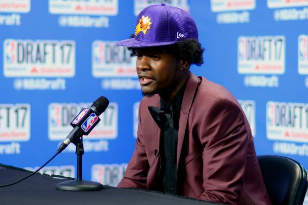Josh Jackson, elegido con el número cuatro en el Draft por Phoenix Suns. | Foto: NBA