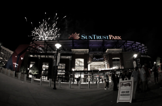 The opening of Suntrust Park ends the long work of building the $622 million stadium. (Photo courtesy of Icon Sportswire via Getty Images)