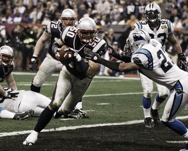 Super Bowl XXXVIII. Foto: Patriots