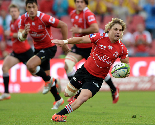 Diminuative scrum-half Faf de Klerk is crucial to the Lions continued improvements (image via: zimbio)
