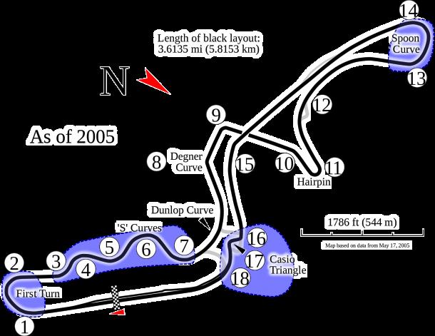 Lap Record: Kimi Raikkonen: 1:31.540 (McLaren, 2005) | Photo: Wikipedia