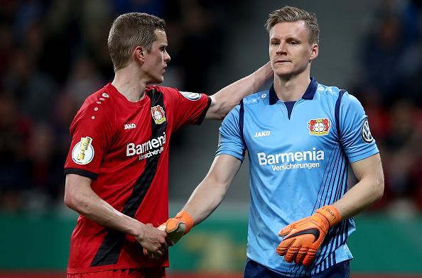 Leverkusen fez o que deu, mas acabou sendo goleado em casa (Foto: Alex Grimm/Bongarts via Getty Images)