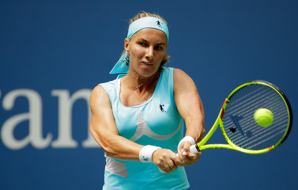 Svetlana Kuznetsova in action at the 2016 US Open | Photo: Andy Lyons/Getty Images North America