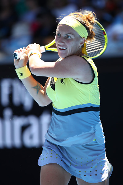 Svetlana Kuznetsova in action | Photo: Cameron Spencer/Getty Images AsiaPac