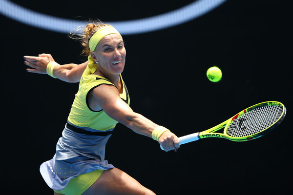 Svetlana Kuznetsova moves on to the third round | Photo: Jack Thomas/Getty Images AsiaPac