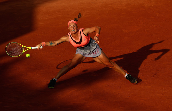 Svetlana Kuznetsova had to battle in her opening round matches | Photo: Clive Brunskill/Getty Images Europe