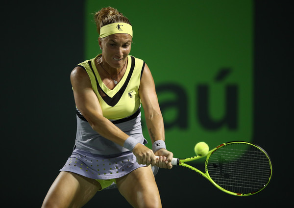 Svetlana Kuznetsova was too passive today | Photo: Julian Finney/Getty Images North America
