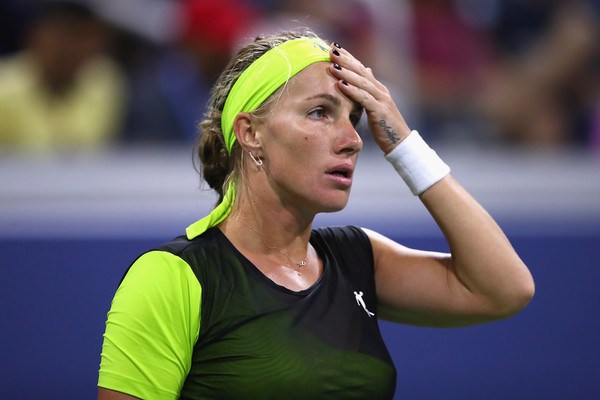 Svetlana Kuznetsova looks on at the US Open, where she fell in the second round | Photo: Clive Brunskill/Getty Images North America
