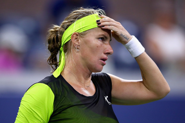 Svetlana Kuznetsova had nothing going right for her this evening | Photo: Clive Brunskill/Getty Images North America