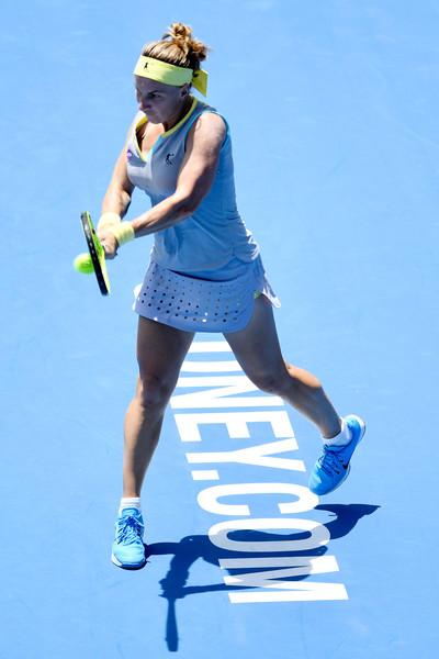 Svetlana Kuznetsova in action | Photo: Brett Hemmings/Getty Images AsiaPac