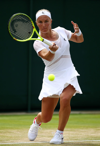 Svetlana Kuznetsova prevailed in straight sets | Photo: Julian Finney/Getty Images Europe