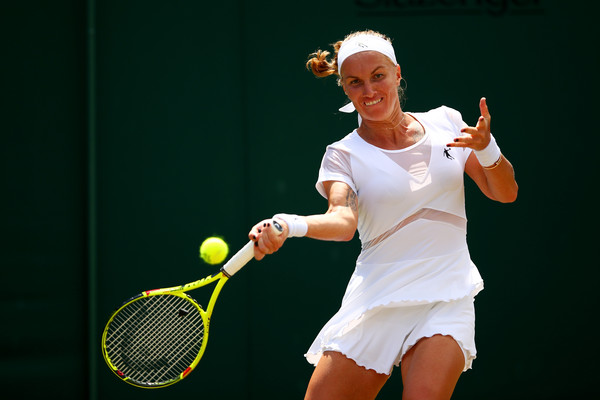 Svetlana Kuznetsova was peaking during the match | Photo: Clive Brunskill/Getty Images Europe