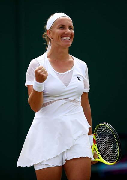 Svetlana Kuznetsova made the quarterfinals at Wimbledon last year | Photo: Clive Brunskill/Getty Images Europe
