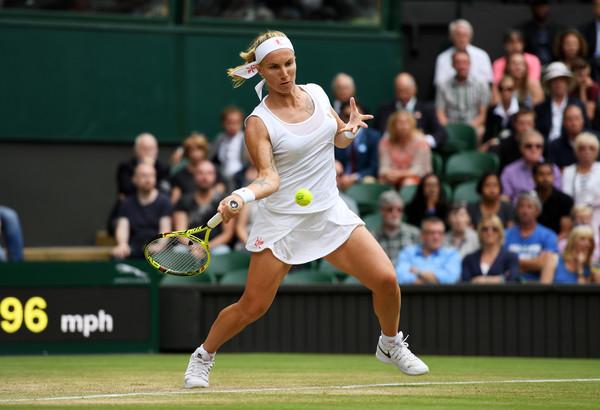 Svetlana Kuznetsova in action at the Wimbledon Championships last year | Photo: Shaun Botterill/Getty Images Europe