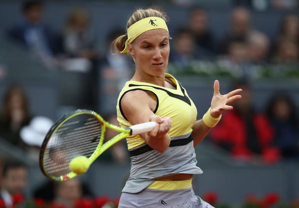 Svetlana Kuznetsova hits a forehand | Photo: Julian Finney/Getty Images Europe