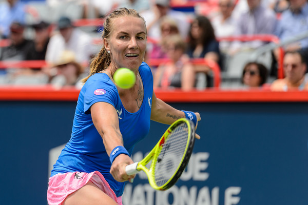 Svetlana Kuznetsova in action at last year's Rogers Cup | Photo: Minas Panagiotakis/Getty Images North America