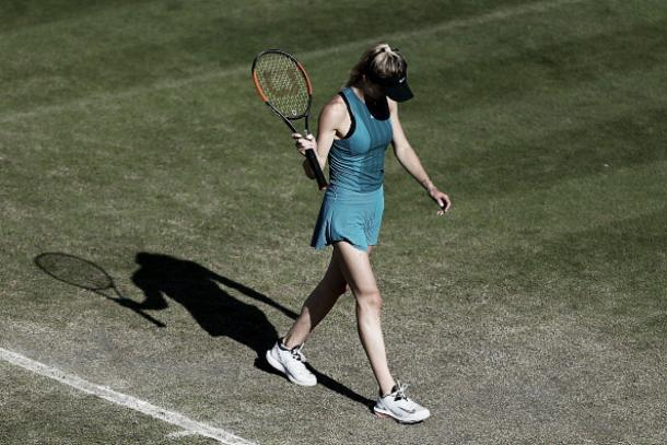 Svitolina foi eliminada por Buzarnescu pelo segundo torneio consecutivo (Foto: Jordan Mansfield/Getty Images for LTA)